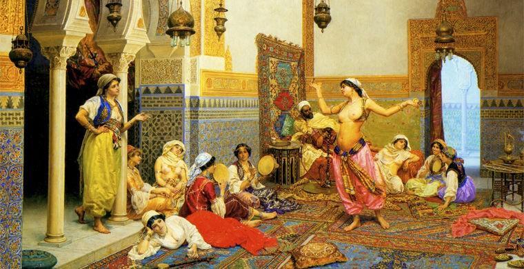 голый гарем султана фото