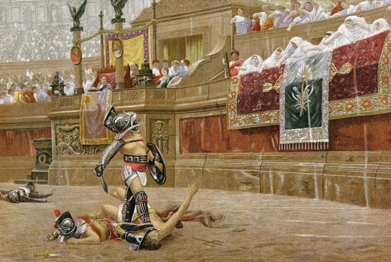 an analysis of the purpose of gladiatorial contests in ancient rome and the use of savage animals Gladiatorial contest in rome sort of formed the gladiatorial contest in ancient rome thousand men fought and on another day nine thousand animals were.