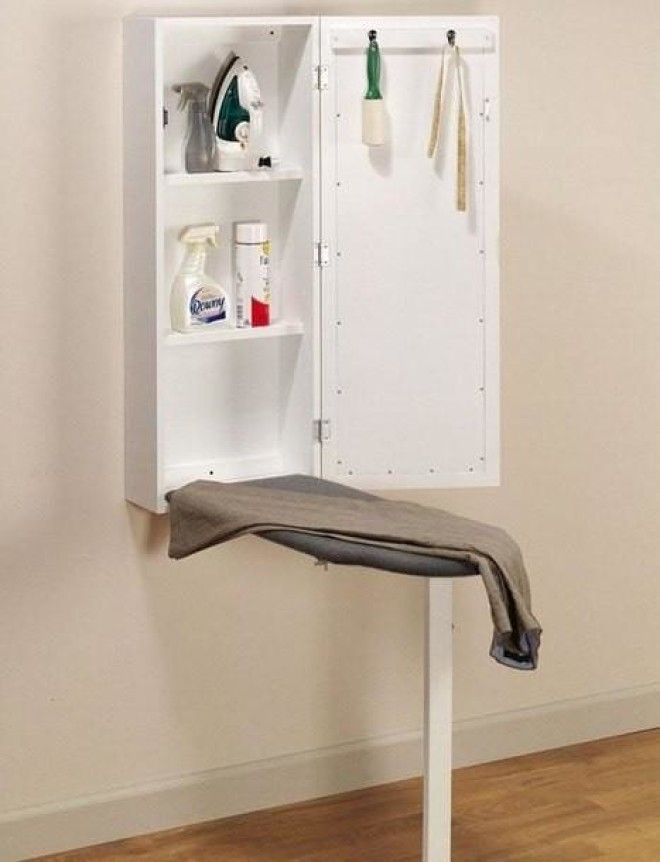 15 ways to write an ironing board in the interior. all geniu.