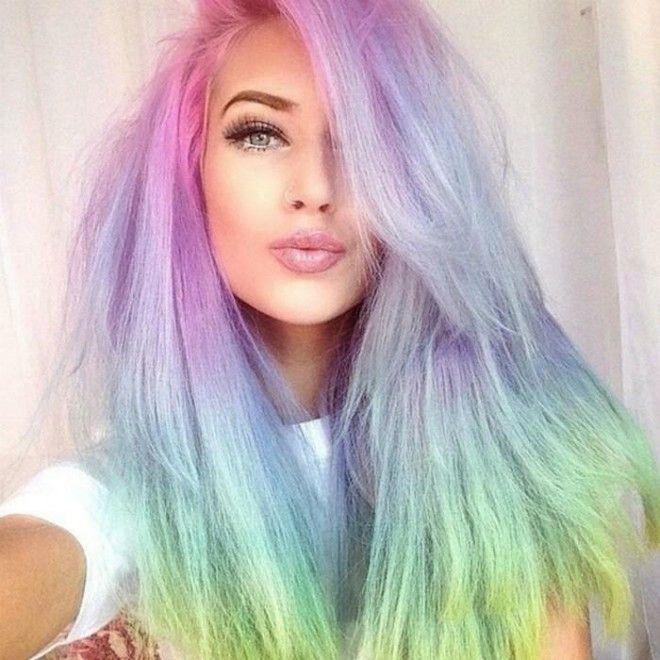 окрашенных фото цвета все волос