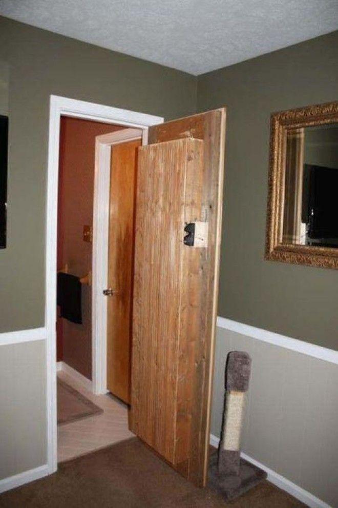 Креатив двери своими руками