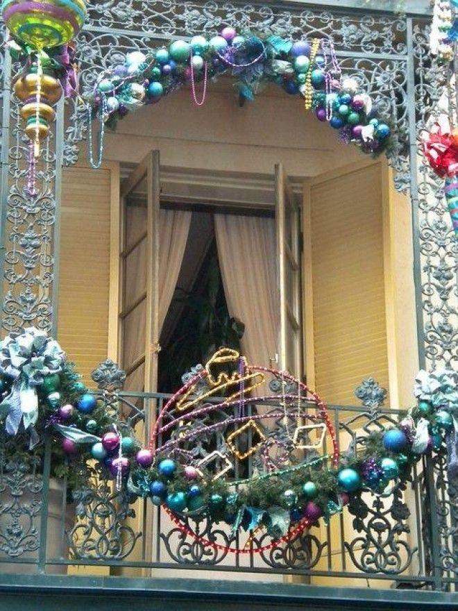 Zoya_50: украшение балконов к новому году.