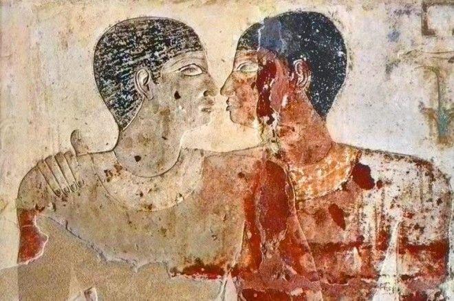 Нетрадиционные сексуальные отношения в древние времене