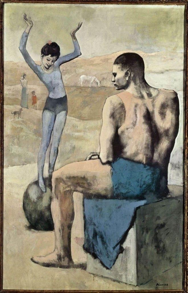 Девочка на шаре Пабло Пикассо