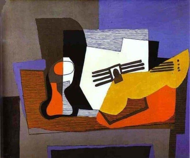 Гитара на камине Пабло Пикассо