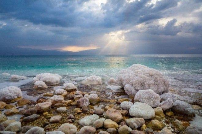 Рассвет на мертвом море. Наслаждайтесь. мертвое море, рассвет, моё, фотография, Природа, длиннопост