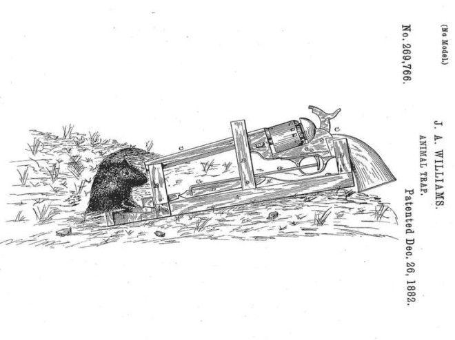 1 Мышеловкапистолет безумные вещи изобретатели изобретения ненужные вещи