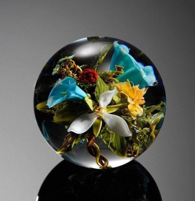 Восхитительные стеклянные цветы Пола Стэнкарда