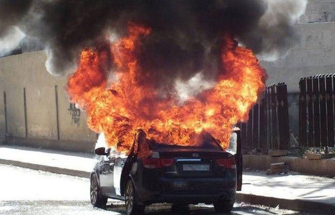 Преувеличенная опасность: взрыв бензобака.