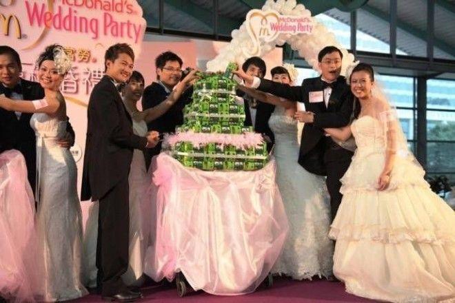 Свадьба макдональдс