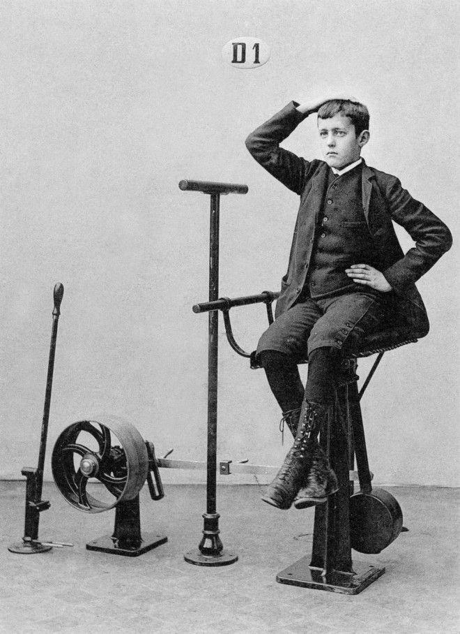 Доктор Густаф Зандер и его викторианские тренажеры