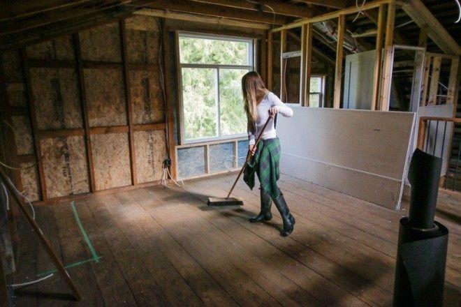 Парень превратил старый сарай в классный офисстудию сарай своими руками студия