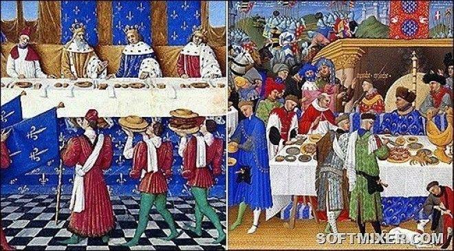 Cтоловые премудрости Средневековья