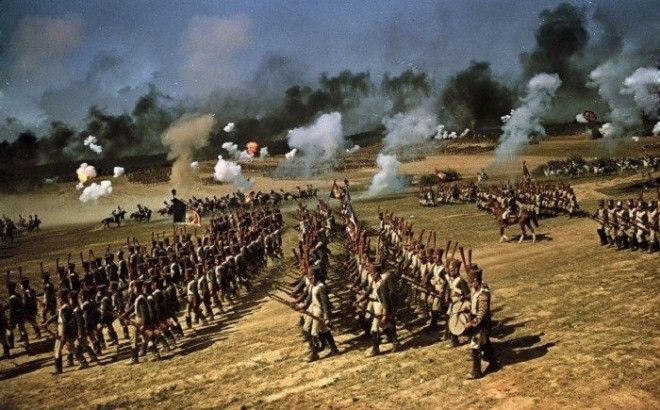 Как проходили съемки фильма Война и мир