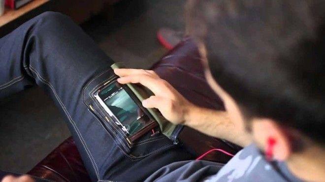 6 Джинсы с прозрачным карманом для iPhone безумные вещи изобретатели изобретения ненужные вещи