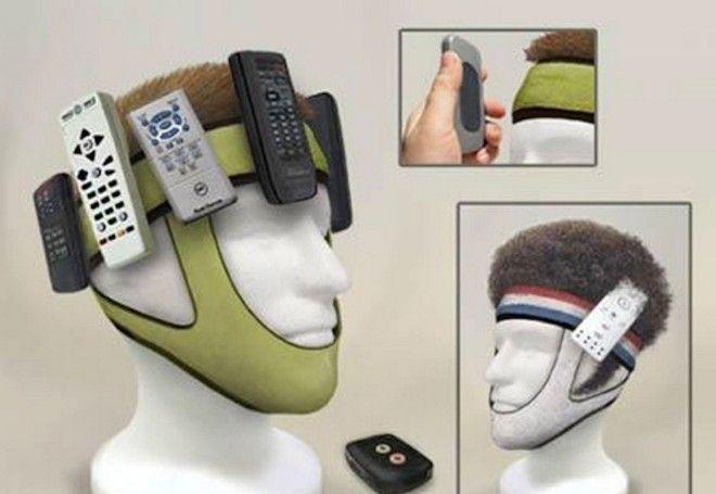 10 Теперь пульт точно не потеряется изобретения кому это нужно устройства для мужчин