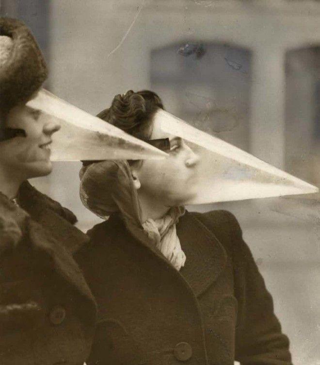 3 Конусынамордники для защиты от метели безумные вещи изобретатели изобретения ненужные вещи