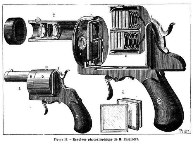 10 Фотоаппаратревольвер безумные вещи изобретатели изобретения ненужные вещи