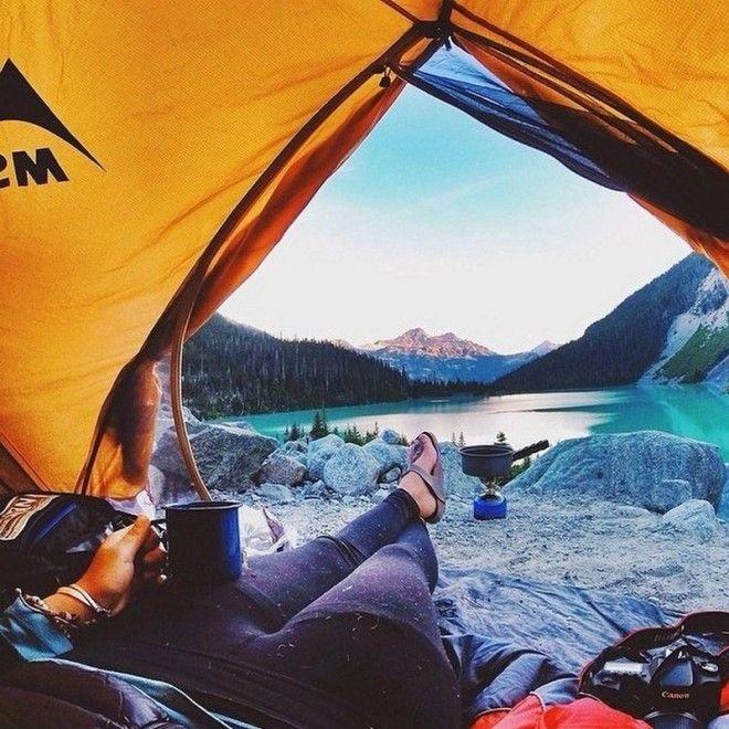 То чувство когда снова хочется жить палатки поход утро