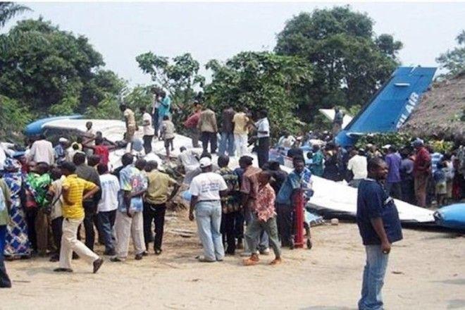 Авиакатастрофа в Конго