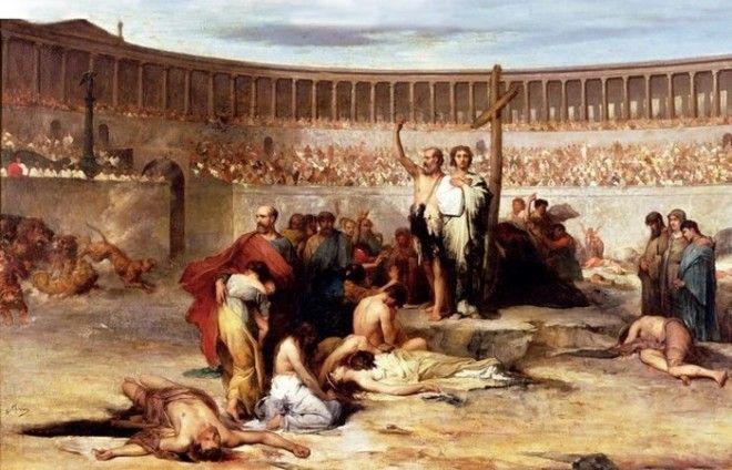 Молитва перед казнью за Веру