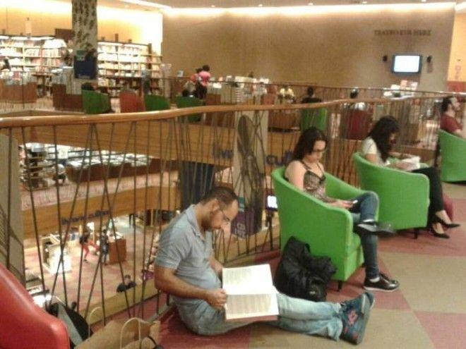 Книжный магазин в СанПаулу