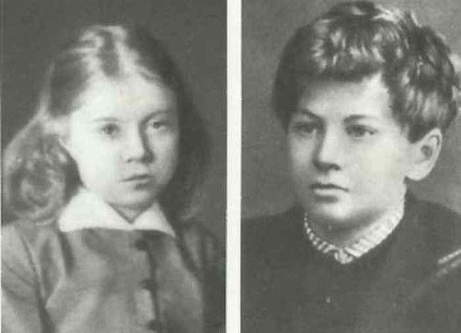 Оля и Володя дети Менделеевых Фото ownlibru