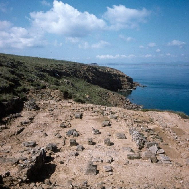 Остатки главного храма на острове Лемнос посвященного богине Деметре