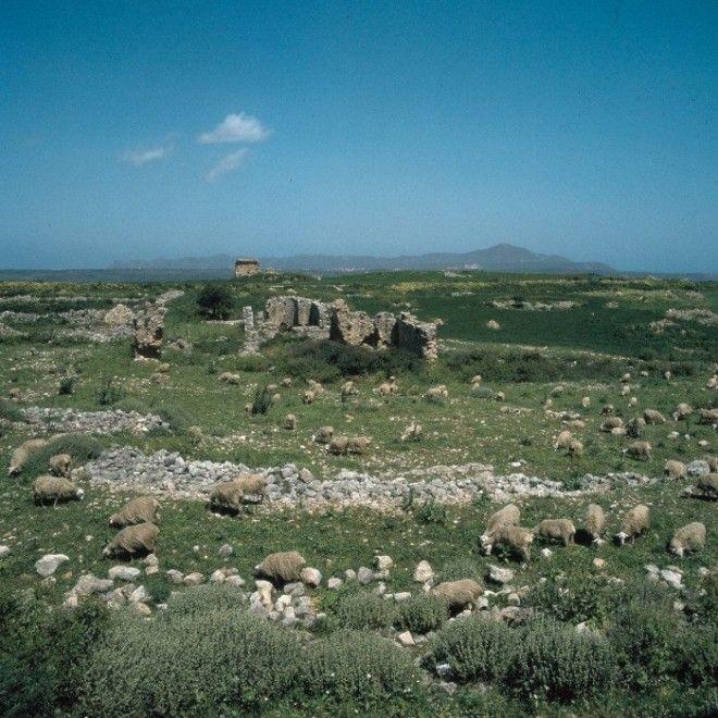 Остатки знаменитых римских терм