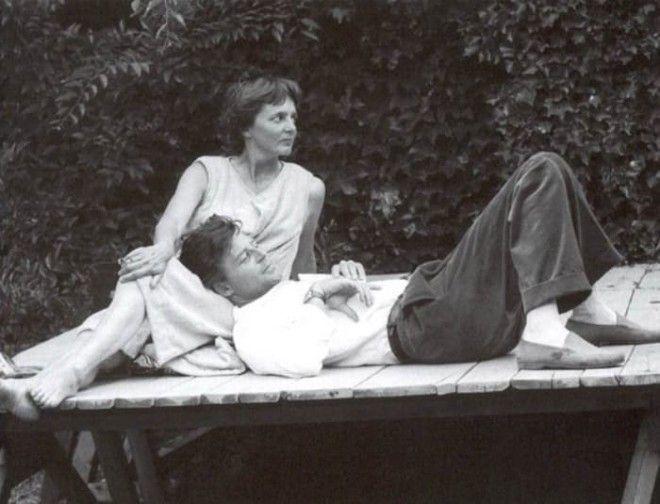 Жерар Филип и его жена Анн Фото chtobypomnilicom
