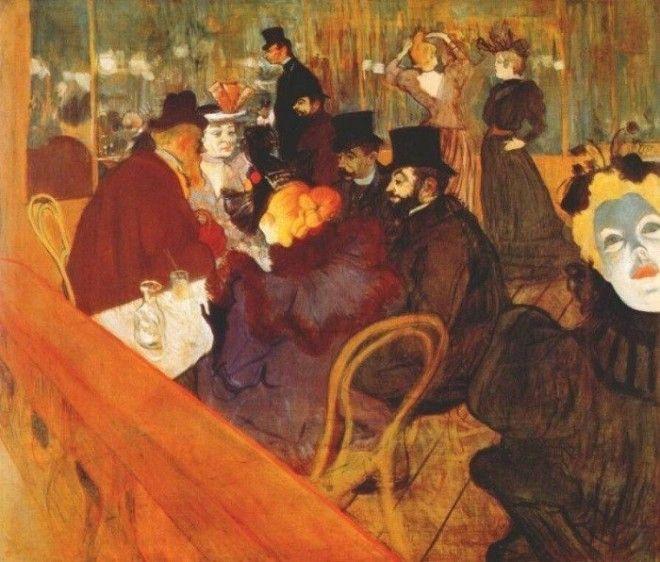 Анри де ТулузЛотрек В Мулен Руж 1892 г Фото ariaartru