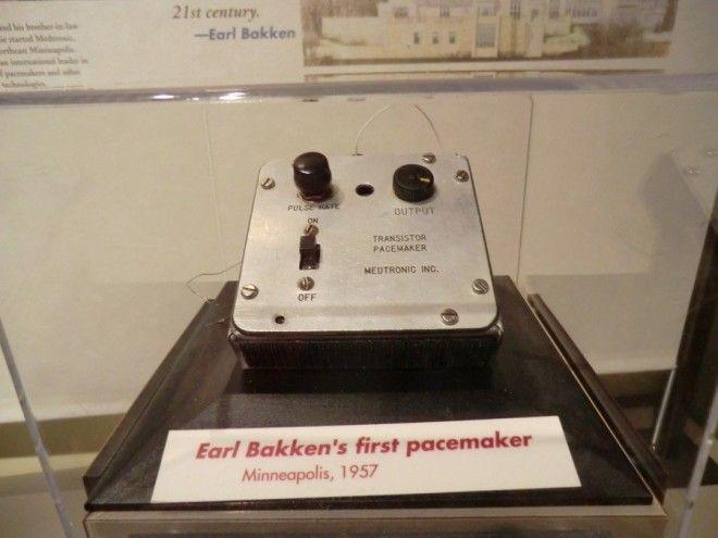 ошибки Кардиостимулятор Одна из первых моделей