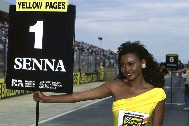 Полуобнаженные красавицы Формулы 1 Фото 13