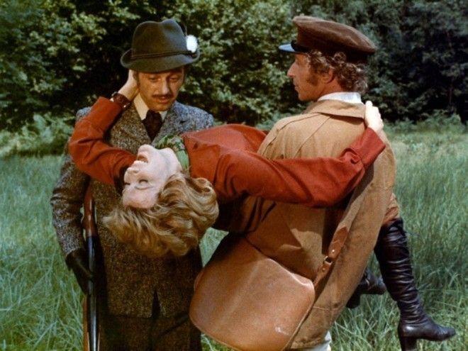 Рассеянный 1970 Пьер Ришар голливуд кино факты