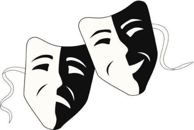 Картинки по запросу театр маски