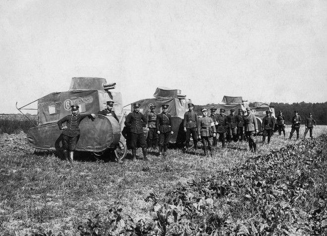 1926г Немецкие муляжи танков