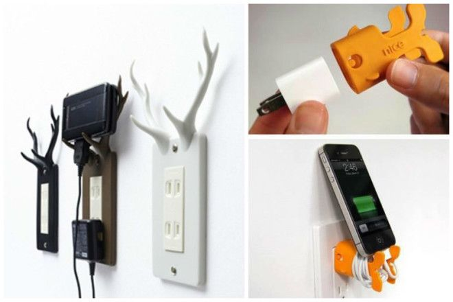 Для подзарядки телефонов дизайн дом животные идеи
