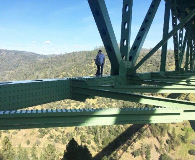 Самый высокий мост Калифорнии уже сотня погибших но это их не пугает