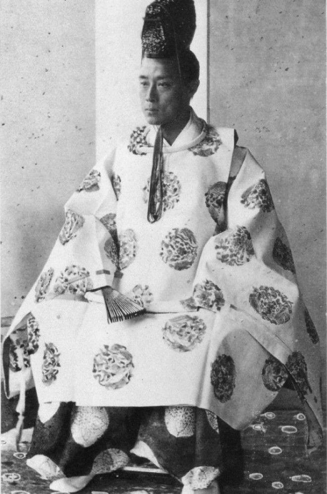 Последний сегун Японии Есинобу Токугава Фото esacademiccom