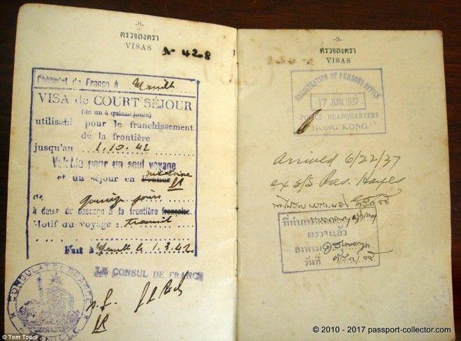 Редкие паспорта государств которых уже не существуют