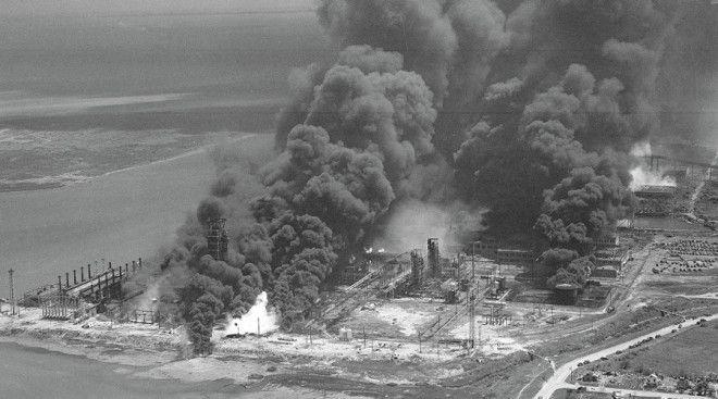 Одна из крупнейших техногенных катастроф которая произошла изза окурка