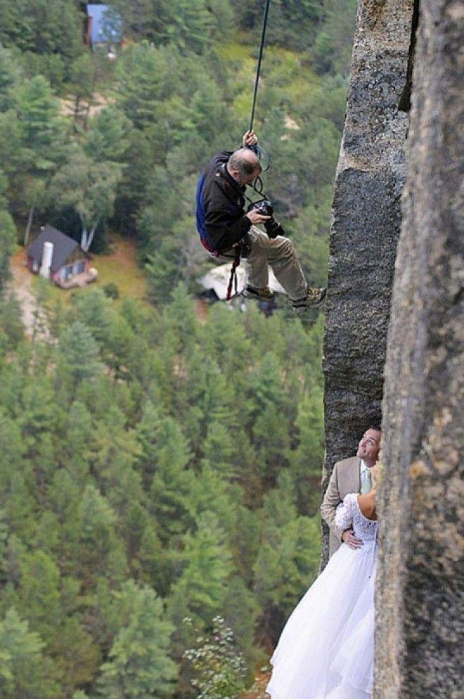 Свадебная фотосессия из разряда WTF