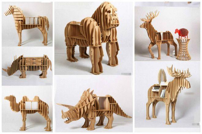 Забавные дизайнерские идеи для тех кто любит животных дизайн дом животные идеи