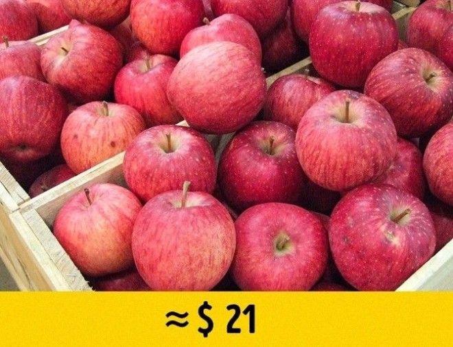 Редкие фрукты по заоблачной цене