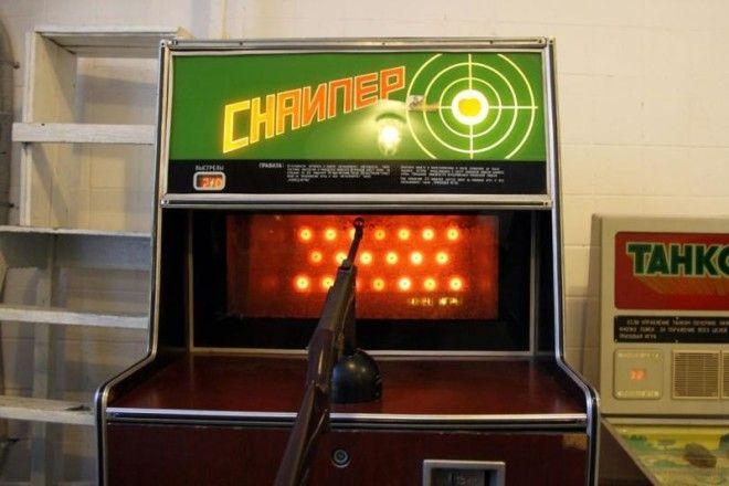 Снайпер СССР игровые автоматы