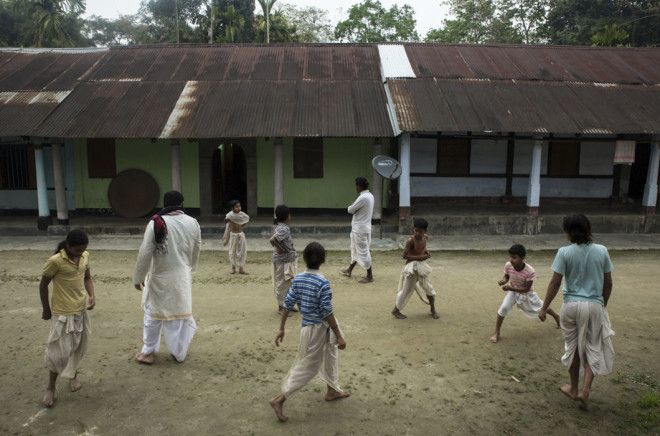 Жизнь маленьких монахов бхакти