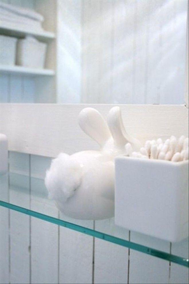 Мягкий заячий хвостик нужен дизайн дом животные идеи