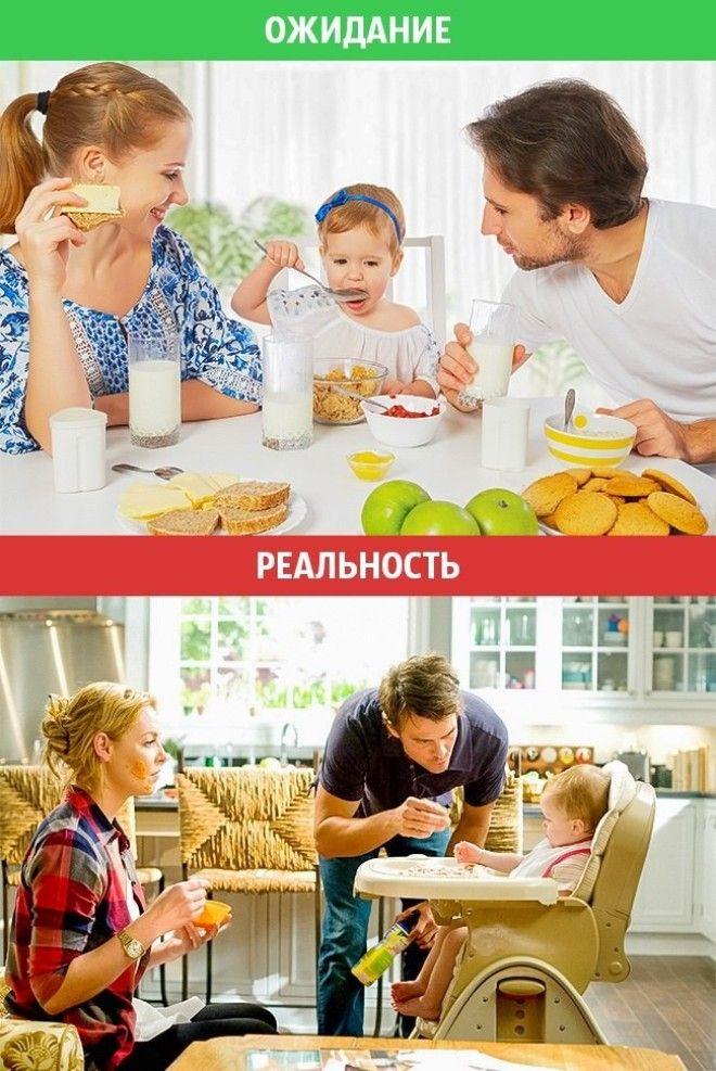 Идеальная семейная жизнь ожидание vs реальность