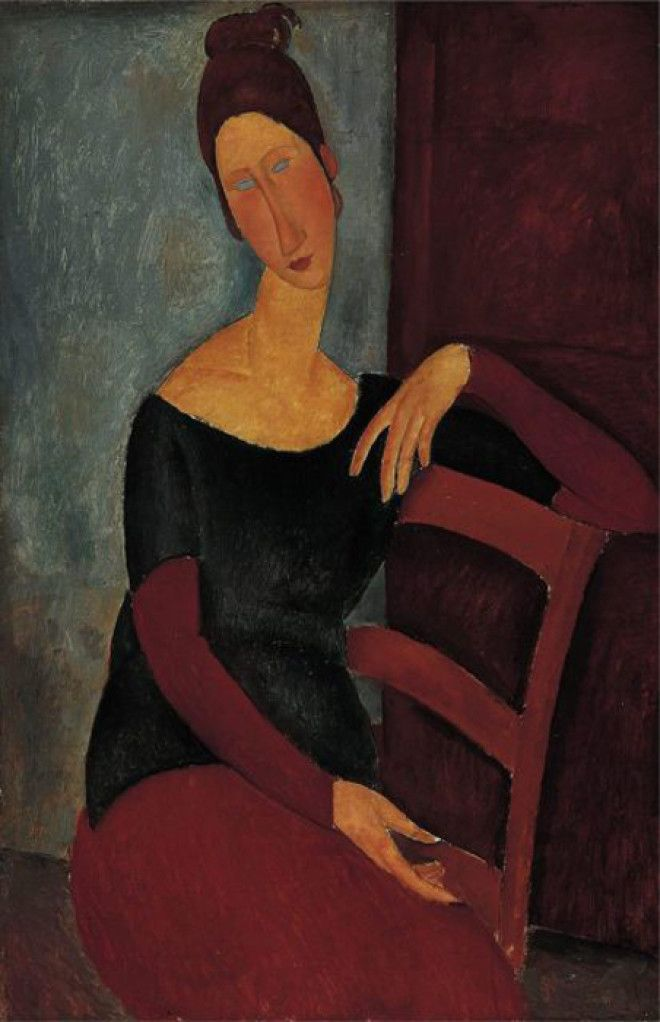 Jeanne Hebuterne 1918 г Автор Amedeo Modigliani