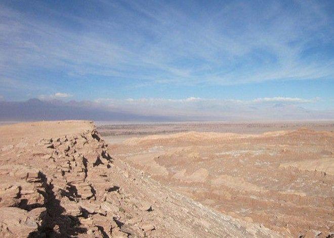 Дюны и скалы Долины Смерти